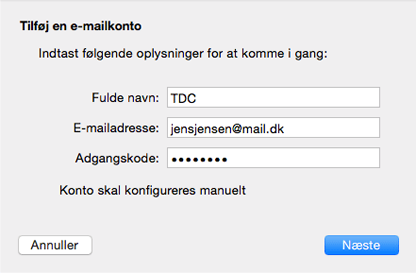 tdc mail problemer