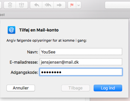 yousee mail adresse